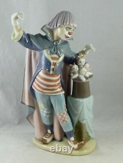 Lladro Circus Magic Clown Figurine 01005892 Boxed