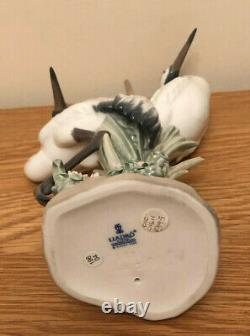 Lladro Courting Cranes. 1611. Perfect in box