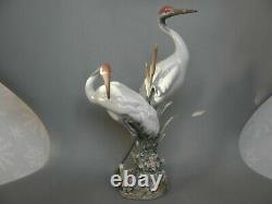 Lladro Courting Cranes Figurine 1611