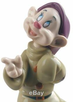 Lladro Disney Porcelain Figurine Dopey