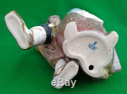 Lladro Facing The Wind Gres Finish 1279