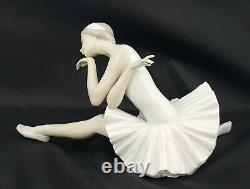 Lladro Figurine 4855 Death of Swan Ballerina