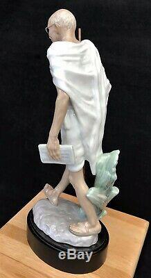 Lladro Figurine 8417 Mahatma Gandhi Commemorative Edition Number 1535