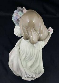 Lladro Figurine Autumn Romance Model No. 6576 Original Box