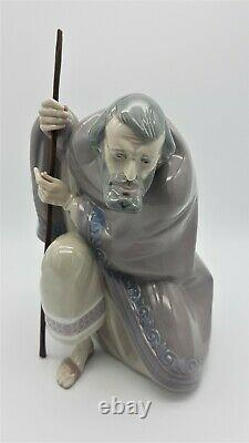 Lladro Figurine Christmas Nativity Set Joseph Mary And Jesus