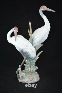 Lladro Figurine Courting Cranes Ref. 1611