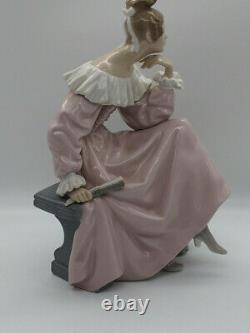 Lladro Figurine In the Garden 4978 Made in Spain
