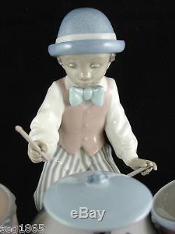 Lladro Figurine Jazz Drums Ref. 5929