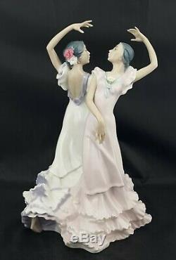 Lladro Figurine Ole 5601 Spanish Flamenco Dancers