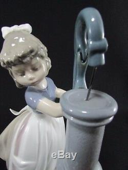 Lladro Figurine Summer on the Farm #5285 c. 1985-2007 Retired