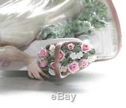 Lladro Figurine, Time For Reflection, 5378