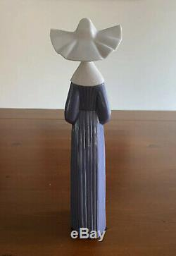 Lladro Figurines Three Blue Nuns Set (Retired) Mint Condition Preloved