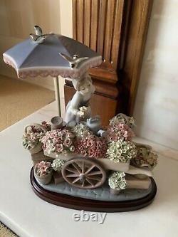 Lladro Flowers Of The Season Woman Sculpture