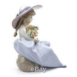 Lladro Fragrant Bouquet Figurine 5862 Boxed Que Bonita Es La Primavera