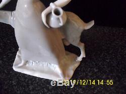Lladro Girl With Pitcher & Goat Figurine 4590 Retired By Alfredo Ruiz Dairy