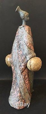 Lladro Gres Gifts to the Earth. 12478. Africa collection. 16.25''. Mint In Box