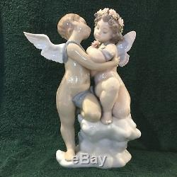 Lladro Heaven And Earth #1824 Heavenly Cherubs Mint In Original Box Rare