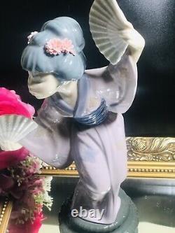 Lladro Japanese Geisha Figurines
