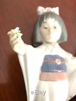 Lladro Japanese Ladies (pair). Undamaged Clean And Bright