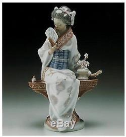 Lladro Japonesa Serenidad Japanese Lady Nippon Lady 5.327