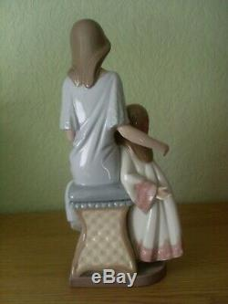 Lladro Large Figure Bedtime Story Model 5457 Lovely Example 27 Cms Tall