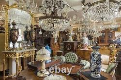 Lladro Large Figure Group Retired Porcelain Vintage