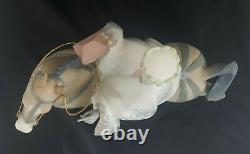 Lladro Large Figurine 1020 King Balthasar on a Horse