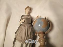 Lladro Large Figurine School Marm #5209 In Excellent Condition