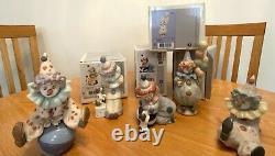 Lladro Little Clown Figurines (ALL 5)