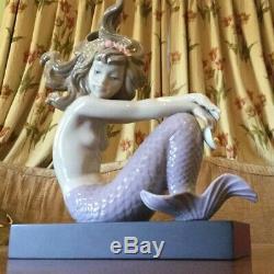 Lladro Mermaid Illusion #1413 Excellent Condition Sirena Rodilla