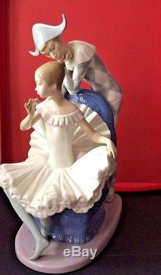 Lladro Nao ADream Come True Harlequin Ballerina