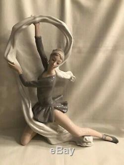 Lladro Nao Figurine Ballerina With Veil Dancer