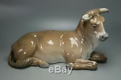 Lladro Nativity Bull # 1390 Mintstunning Work Of Art! Beautiful