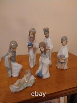 Lladro Nativity Set Not Nao