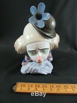 Lladro Pensive Clown by Jose Puche c. 1982-2000