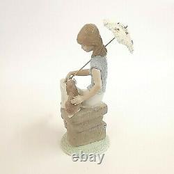 Lladro Picture Perfect Figurine 7612 Glazed Juan Huerta Decanso En El Paseo
