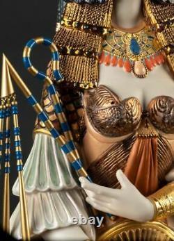 Lladro Porcelain Cleopatra Sculpture. Limited Edition 01002022
