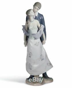 Lladro Porcelain Figure Perfect Match Lovely Wedding Anniversary Gift New Box