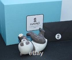 Lladro Porcelain Figurine A Joyful Panda