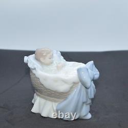 Lladro Porcelain Figurine A New Treasure Boy