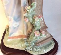 Lladro Porcelain Figurine Geisha Girl MARIKO Pagoda 1421 Rare Large 16 41cm AF
