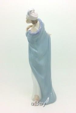 Lladro Porcelain Figurine The Flirt 5789 Art Deco Lady Retired Excellent Rare