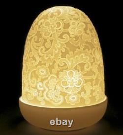 Lladro Porcelain Lace Dome Lamp Was £145 Now £123