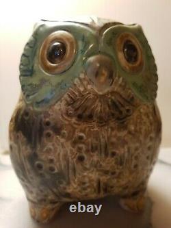 Lladro Porcelain Owl H 17 Cm X W 13 cm