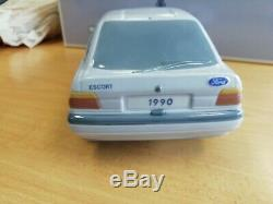 Lladro Porcelain Rare Ford Escort Car In Unmarked Original Boxed Condition