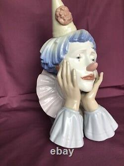 Lladro Porcelain figurine Clown JESTER 5129