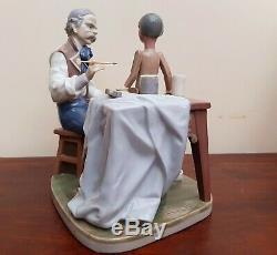 Lladro Puppet Painter #5396 Giuseppe & Pinocchio VGC BOXED