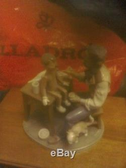 Lladro Puppet PainterUK post only NO BOX