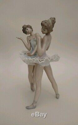 Lladro Rare Ballet Ballerina Figure DRESS REHEARSAL # 5497 Perfect & Boxed