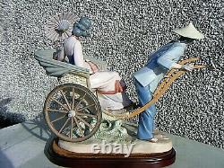 Lladro Rickshaw Chinese Ride 1383